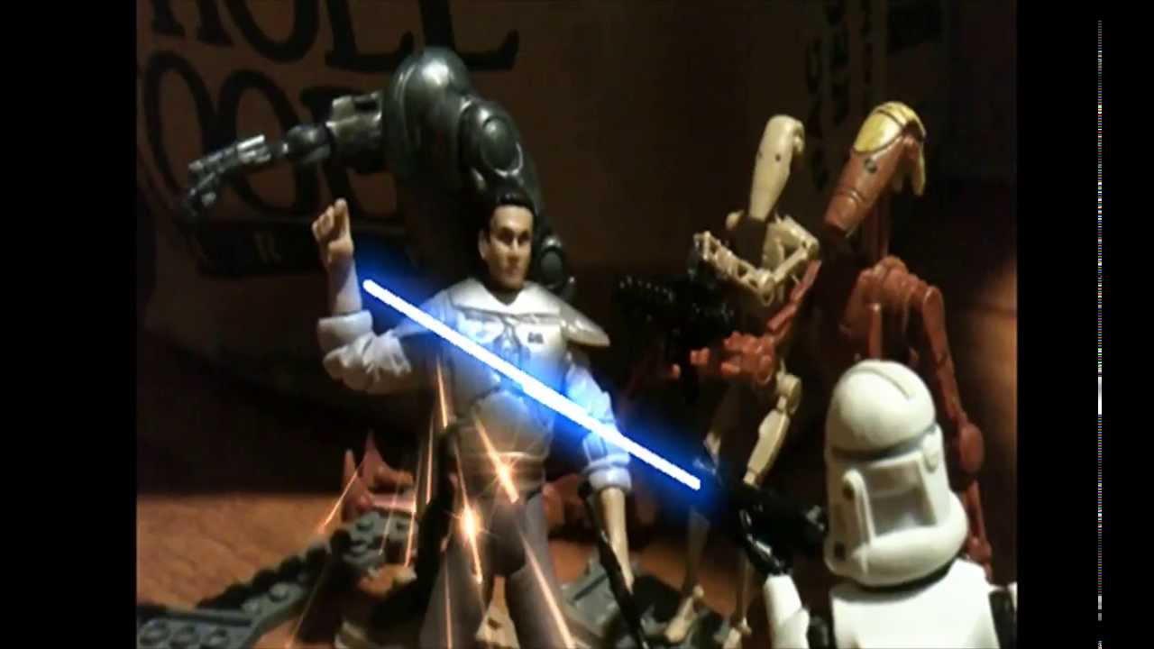figurine star wars stop motion