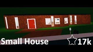 Roblox Bloxburg // Small House Speed Build // 17k Value