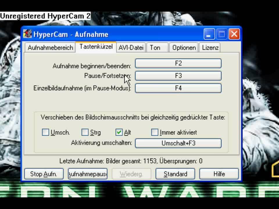 hypercam deutsch