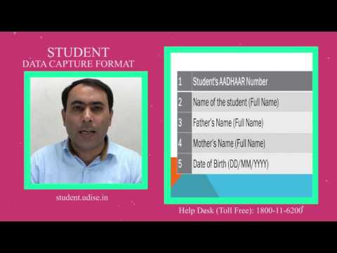 Student Data Capture Format  - 2016 17 (Naveen Bhatia) - English