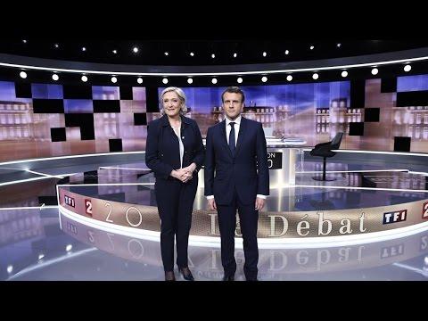 Débat présidentielle 2017 : les temps forts de l'affrontement Macron-Le Pen