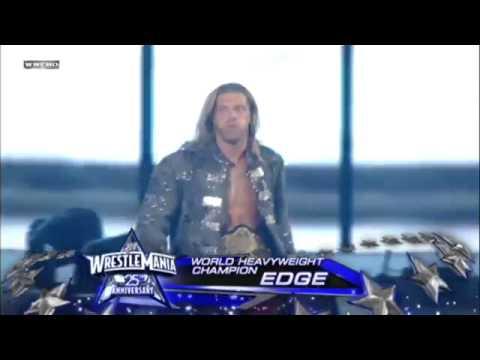 [HD] Edge Entrance ~ WrestleMania 25