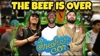 EXPOSING DAMMNDEE & TONYD2WILD 😂 | SNEAKER YOUTUBERS WANT BEEF NOT HEAT! 🔥🔥
