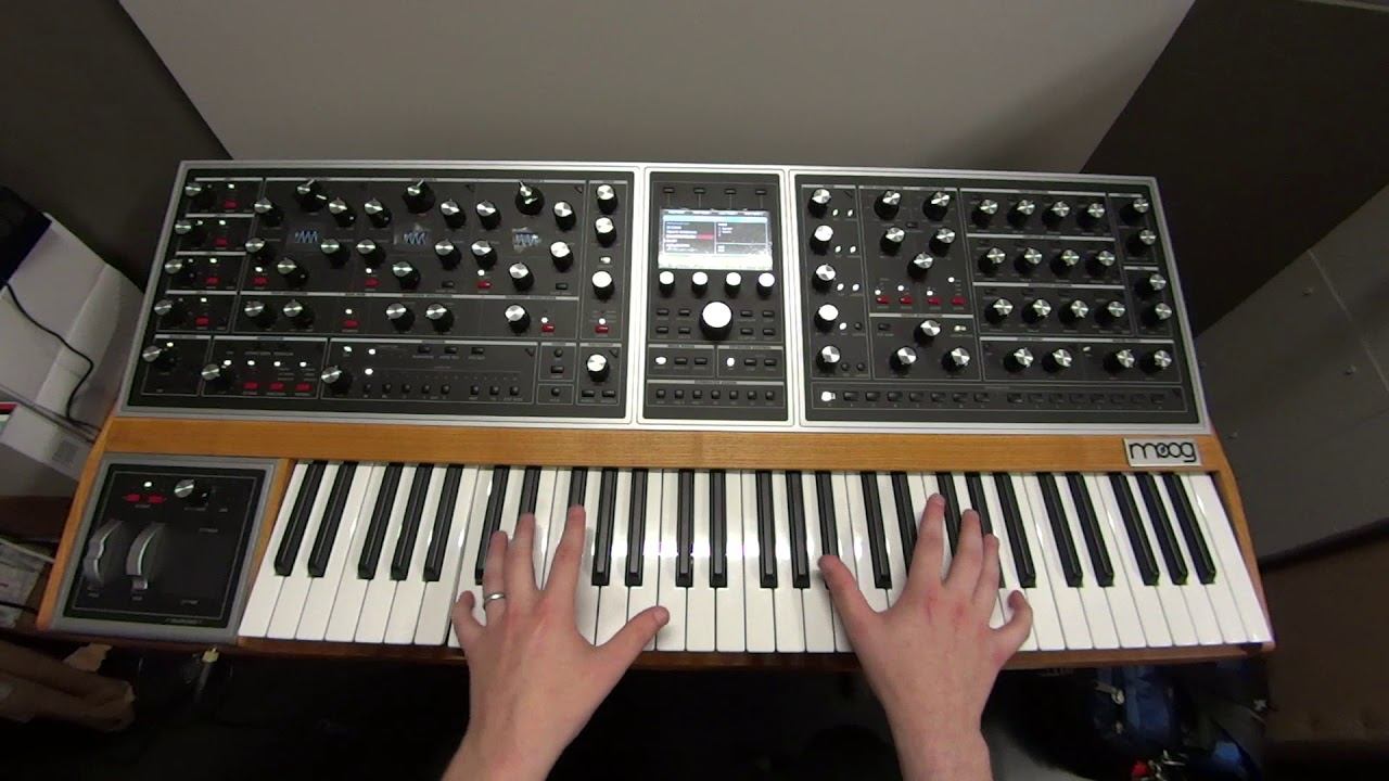 Analog synths are the perfect instrument for people who took