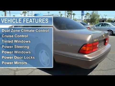 1998 lexus ls 400 reliable auto sales las vegas nv 89104 youtube. Black Bedroom Furniture Sets. Home Design Ideas