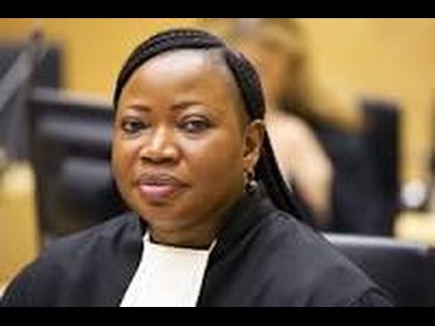 International Criminal Court  Chief Prosecutor, the Honorable Fatou Bensouda