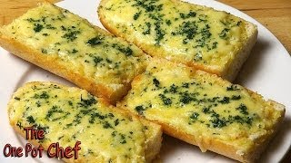 Easy Cheesy Garlic Bread - Recipe