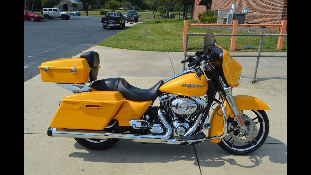 2013 Harley-Davidson® FLHX - Street Glide Yellow Chrome ...