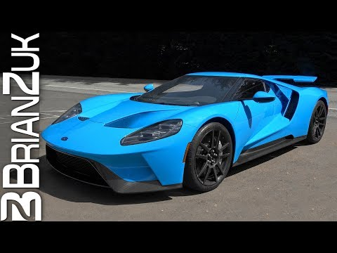 Riviera Blue 2017 Ford GT