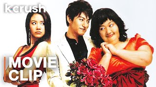 After plastic surgery, her crush doesn't recognize her | Clip from '200 Pounds Beauty'