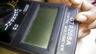 DT9205A digital multimeter teardown!