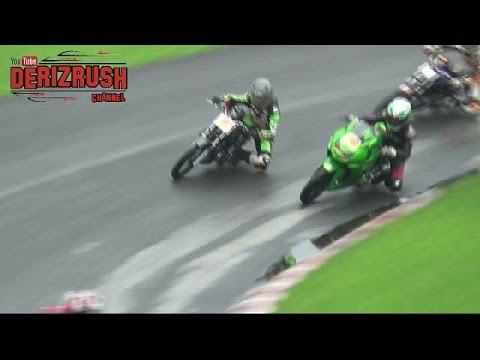 RX KING VS NINJA 250 - ROAD RACE