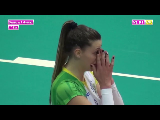 Orvieto vs S  Giustino - 1° Set