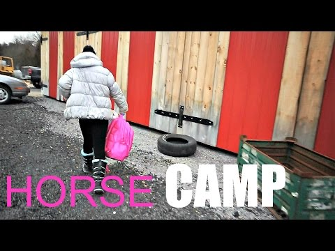 FIRST DAY AT HORSE CAMP! Day 072 (03/13/17)