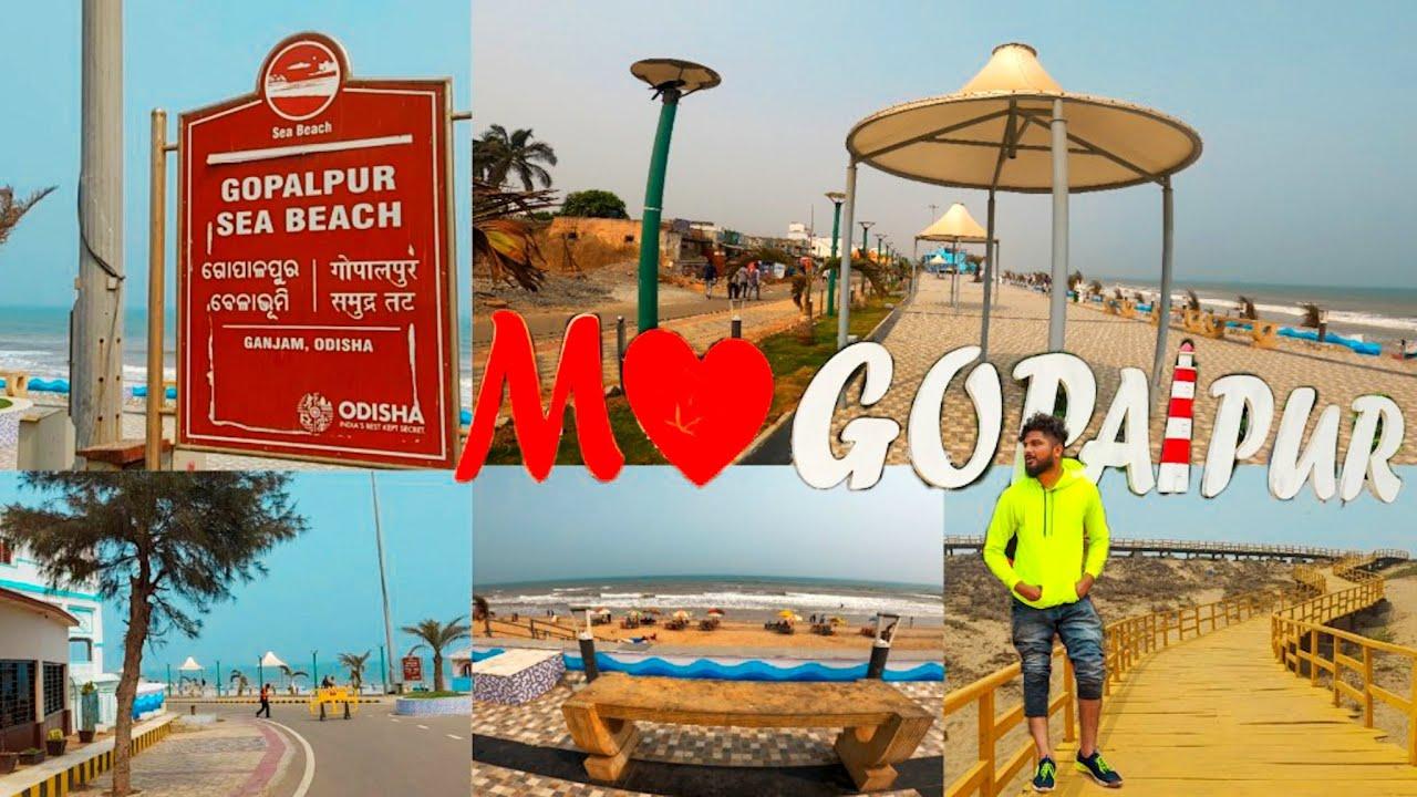 What's New In Gopalpur Sea Beach ? Odisha's Sea Beach Vlogs | Rides From Berhampur To Gopalpur 2021