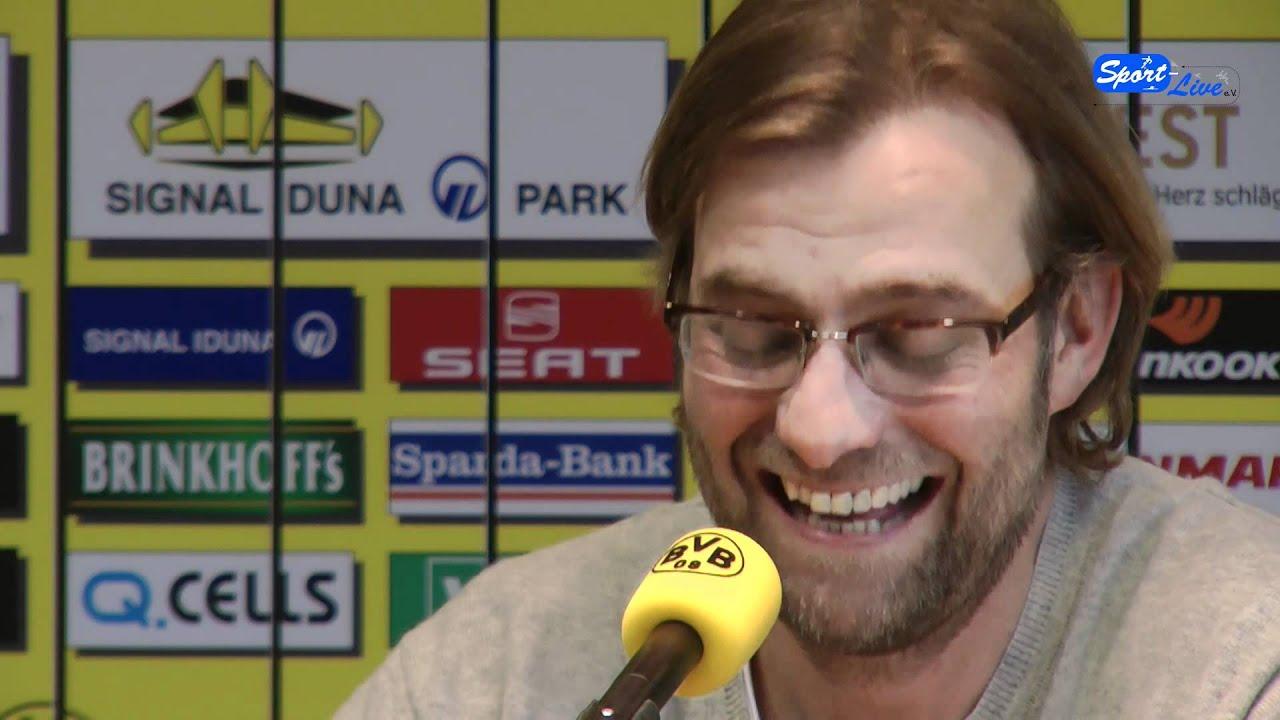 Borussia Dortmund - Hannover 96 : Jürgen Klopp freut sich auf das Spiel (Teil 2)