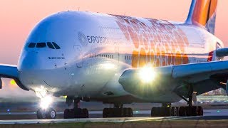 6 MORNING TREATS | A380 A350 B777 A330 | Melbourne Airport Plane Spotting