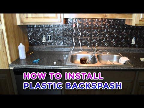 What are Faux Tin Backsplash Rolls YouTube