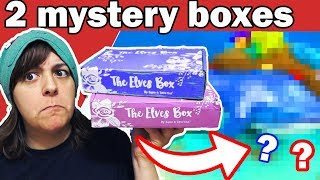 TURNING 2 MYSTERY CRAFT ART SUPPLIES BOX INTO SCULPTURE Polymer Clay Tutorial Epoxy Resin