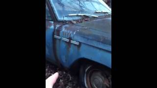 1963 Buick special wildcat 1-10-12 for sale parts