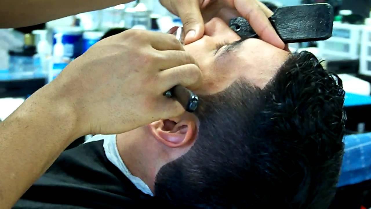 Barber Line Up : Master Barber Shop Mohawk Hair Cut Beard Eyebrow Razor Line Up Lilburn ...