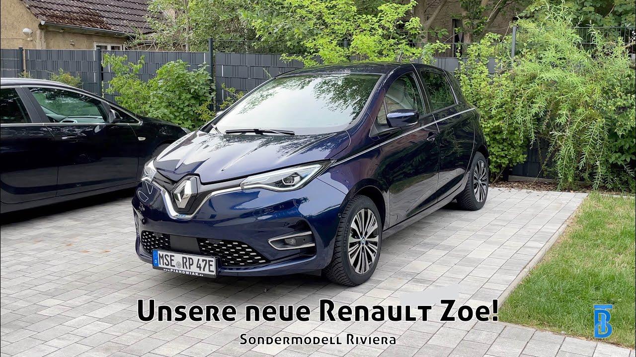 Unser NEUES Elektroauto abholen! (Renault Zoe Riviera)