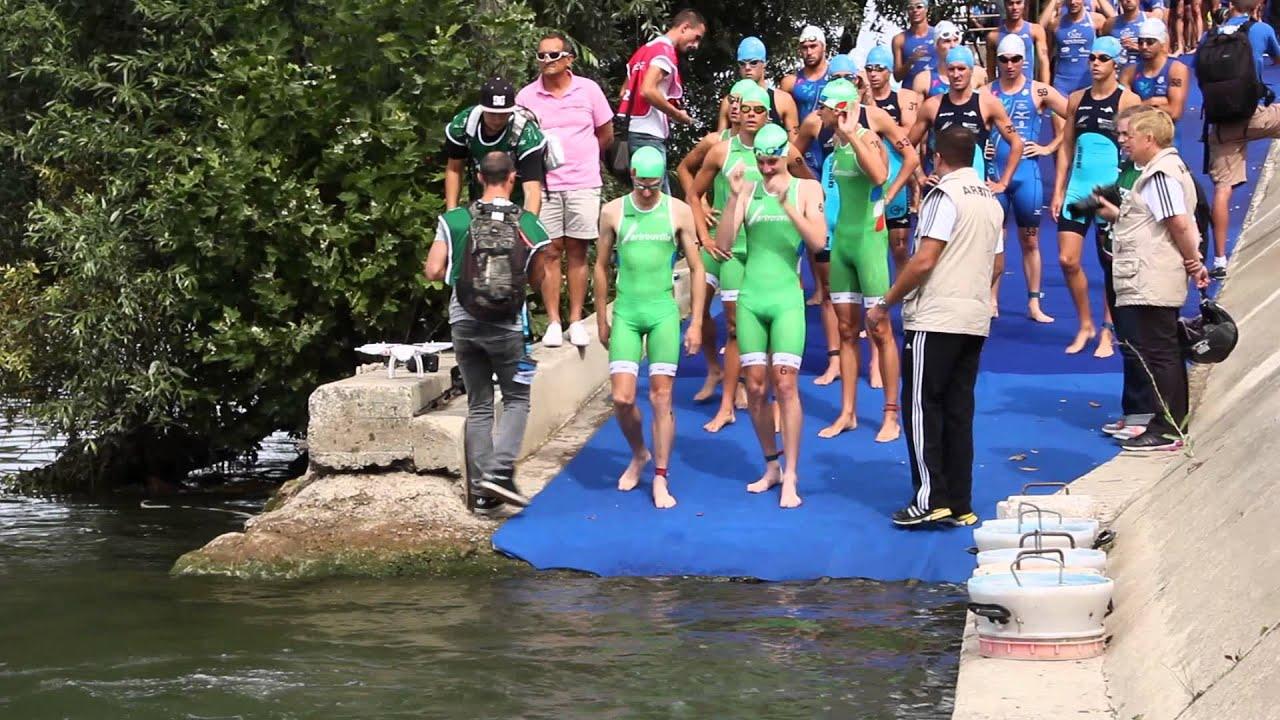 Grand Prix triathlon de Sartrouville 2013 la descente à