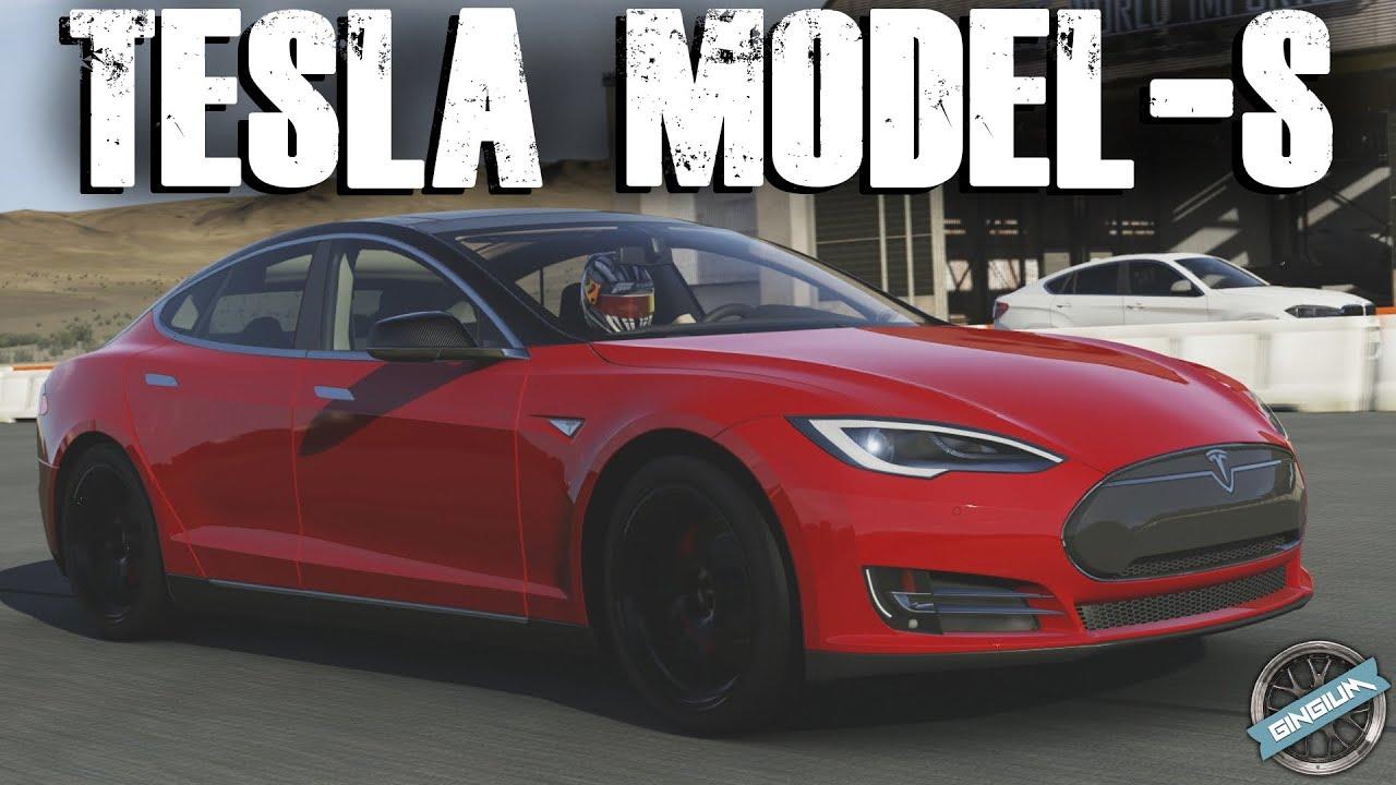 сборка tesla model s