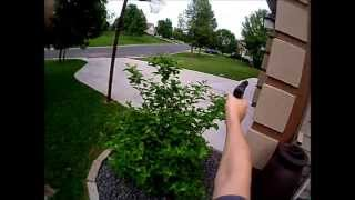 Helmet Cam: Backyard Airsoft War #3 part 1
