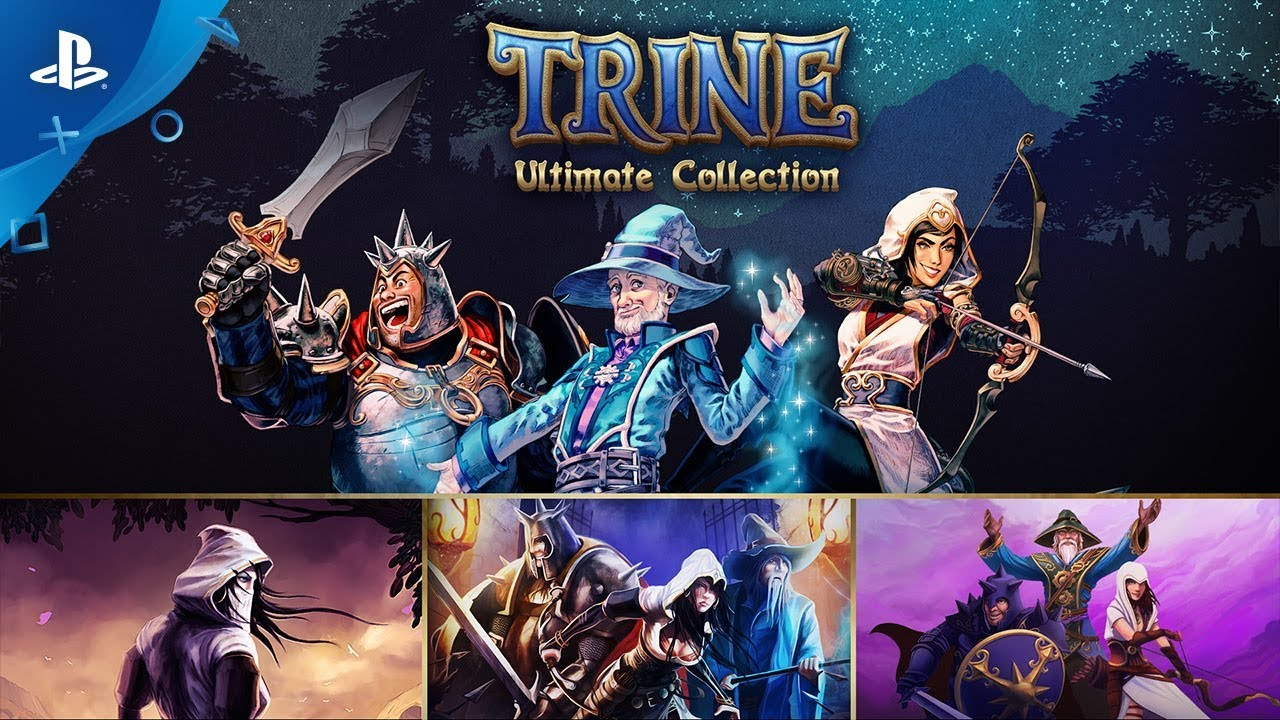 Trine: Ultimate Collection - Gameplay Trailer | PS4
