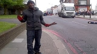 Terrorism? Soldier Brutally Butchered in the Street