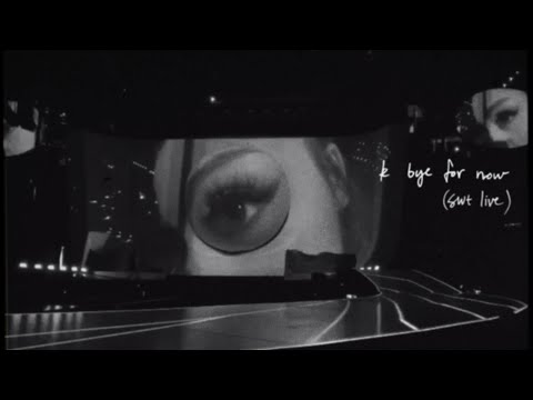 Ariana Grande - no tears left to cry (swt live)