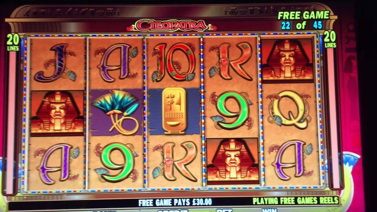 Slots machines free games cleopatra barriere deauville casino