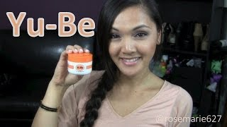 Yu-Be Skincare Products REVIEW Thumbnail