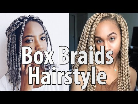 40 Box Braids Hairstyles For Women