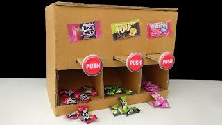 How to Make Candy Vending Machine at Home | DIY Candy Dispenser