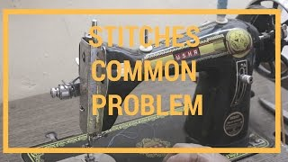 [solved] Stitches Common Problem | शिलाई नही आ रही है  | Self Repair | HINDI
