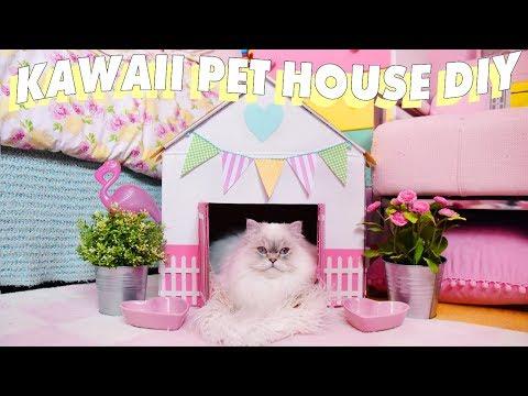 RIDICULOUSLY CUTE PET HOUSE DIY 🏠💕🐈