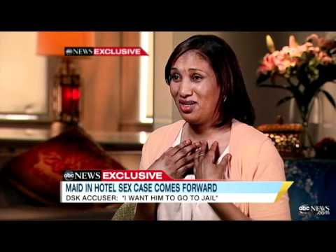 Dominique Strauss-Kahn's Accuser, Nafissatou Diallo, Speaks Out to 'GMA's' Robin Roberts (07.25.11)