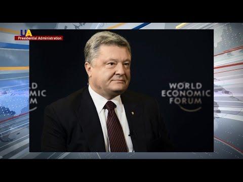 Ukrainian President Poroshenko Confident Trump Will Stand With Ukraine