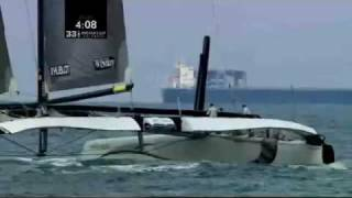 33rd America's Cup (2010) Highlights part 1 of 3