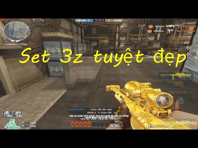 [ Bình Luận CF ] 3z Ultimate Goldsmith - Tiền Zombie v4 — #kinotubeinfo