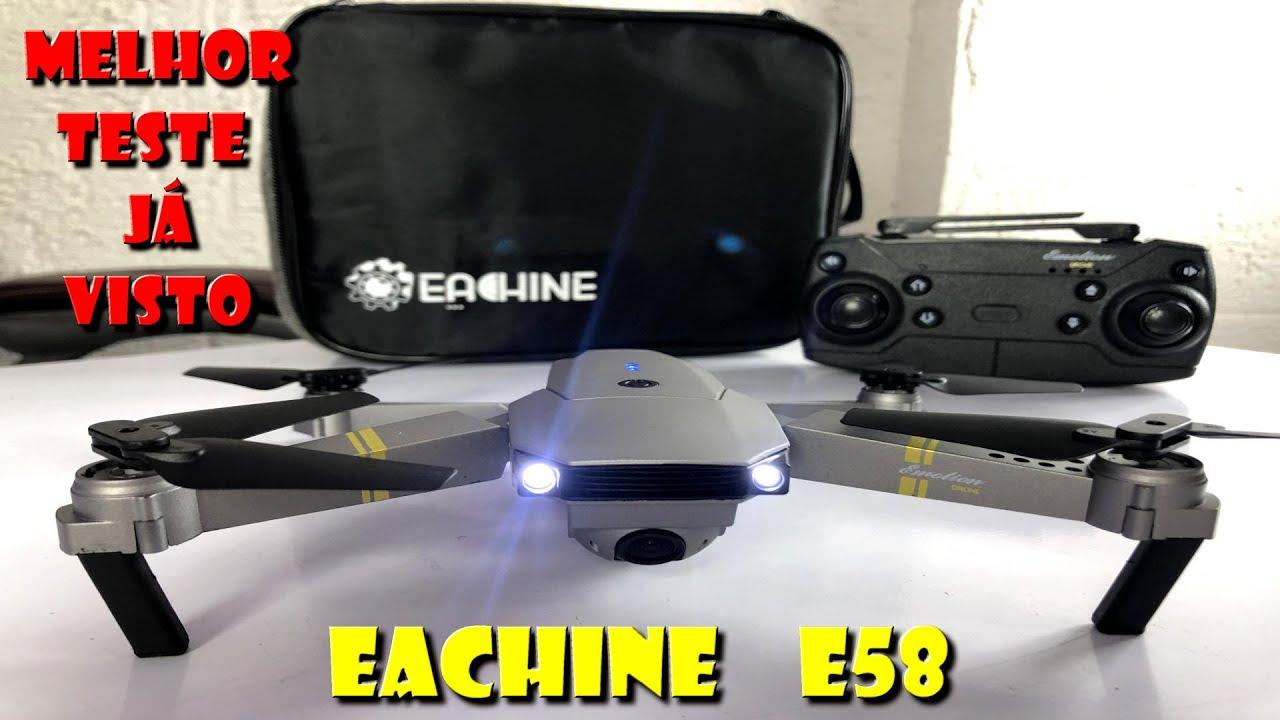 DRONE EACHINE E58  FILHOTE DO DJI MAVIC PRO
