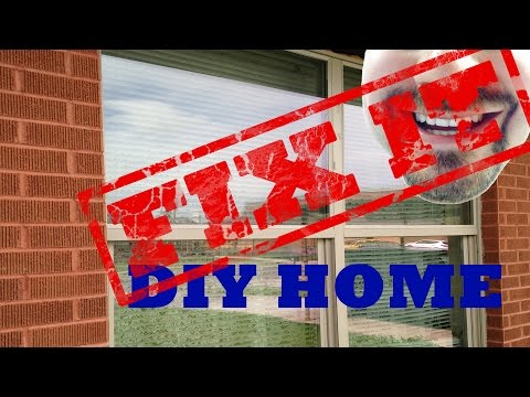 Large Window Replacement/Install | FIX IT