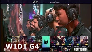 Rogue vs Misfits | Week 1 Day 1 of S9 LEC Spring 2019 (ex-EULCS) | RGE vs MSF W1D1