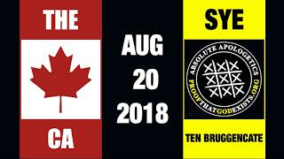 The Canadian Atheist Ep. 63 with Sye Ten Bruggencate