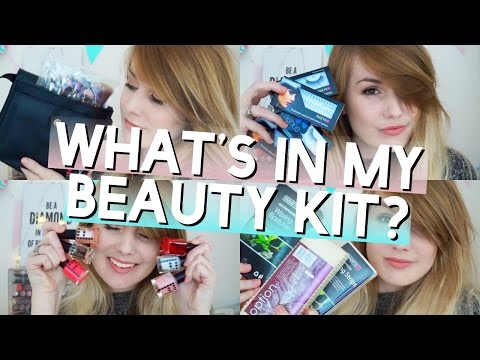What's In My Beauty Therapist Kit? // MissBeautyEmily