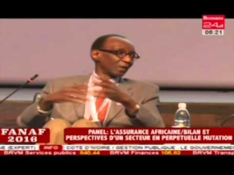 Business 24/Fanaf 2016 L'assurance Africaine Bilan et perspectives