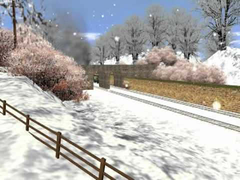 Thomas Trainz Music Video - The Snow Song