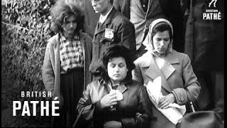 Many Mourn Gangster Aka Funeral Of Lucky Luciano American  Gangster In Naples (1962)